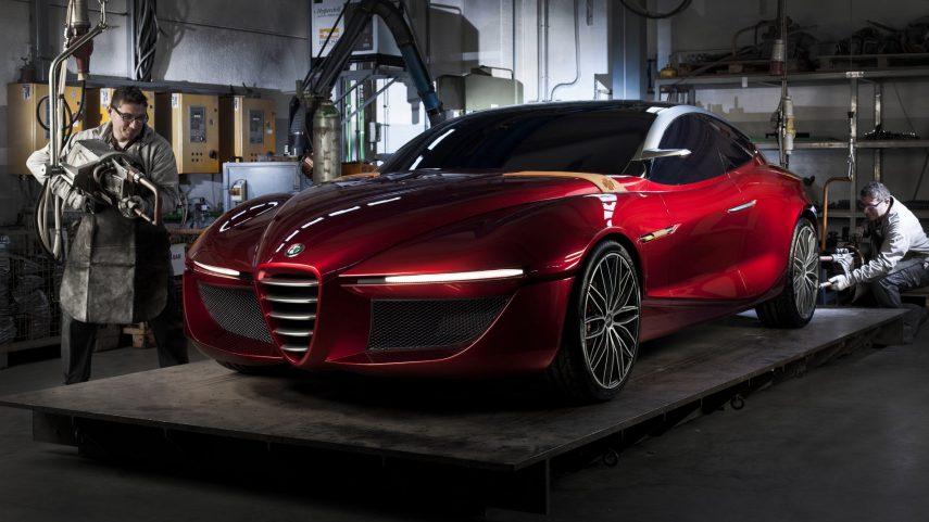 Alfa Romeo tendrá un sedán del segmento E