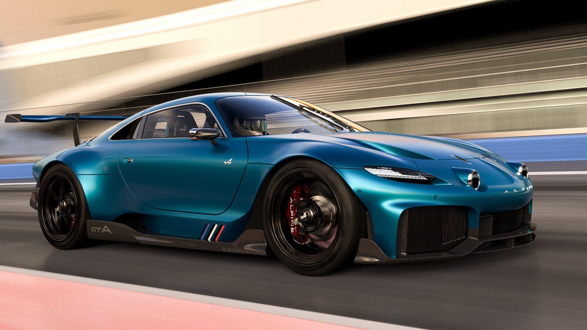 El Alpine GTA de Arseny Kostromin te dejará con ganas de verlo hecho realidad