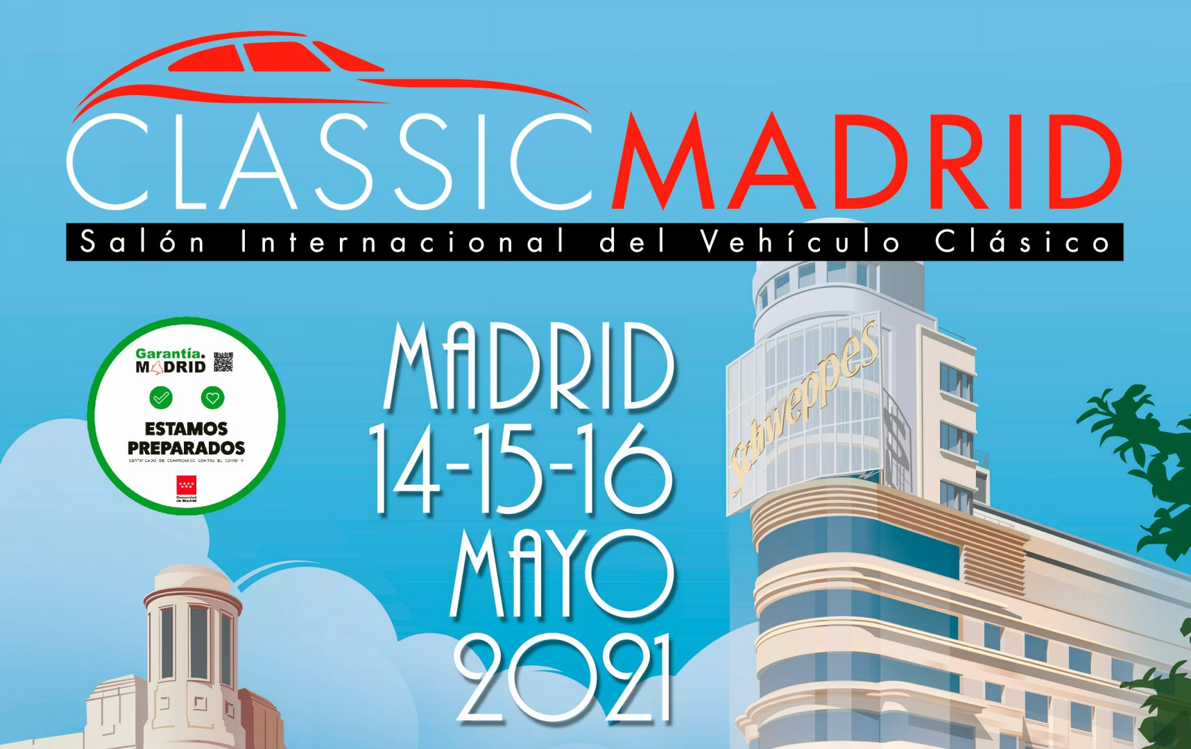 ClassicMadrid 2021 ya tiene fecha y lugar concretados