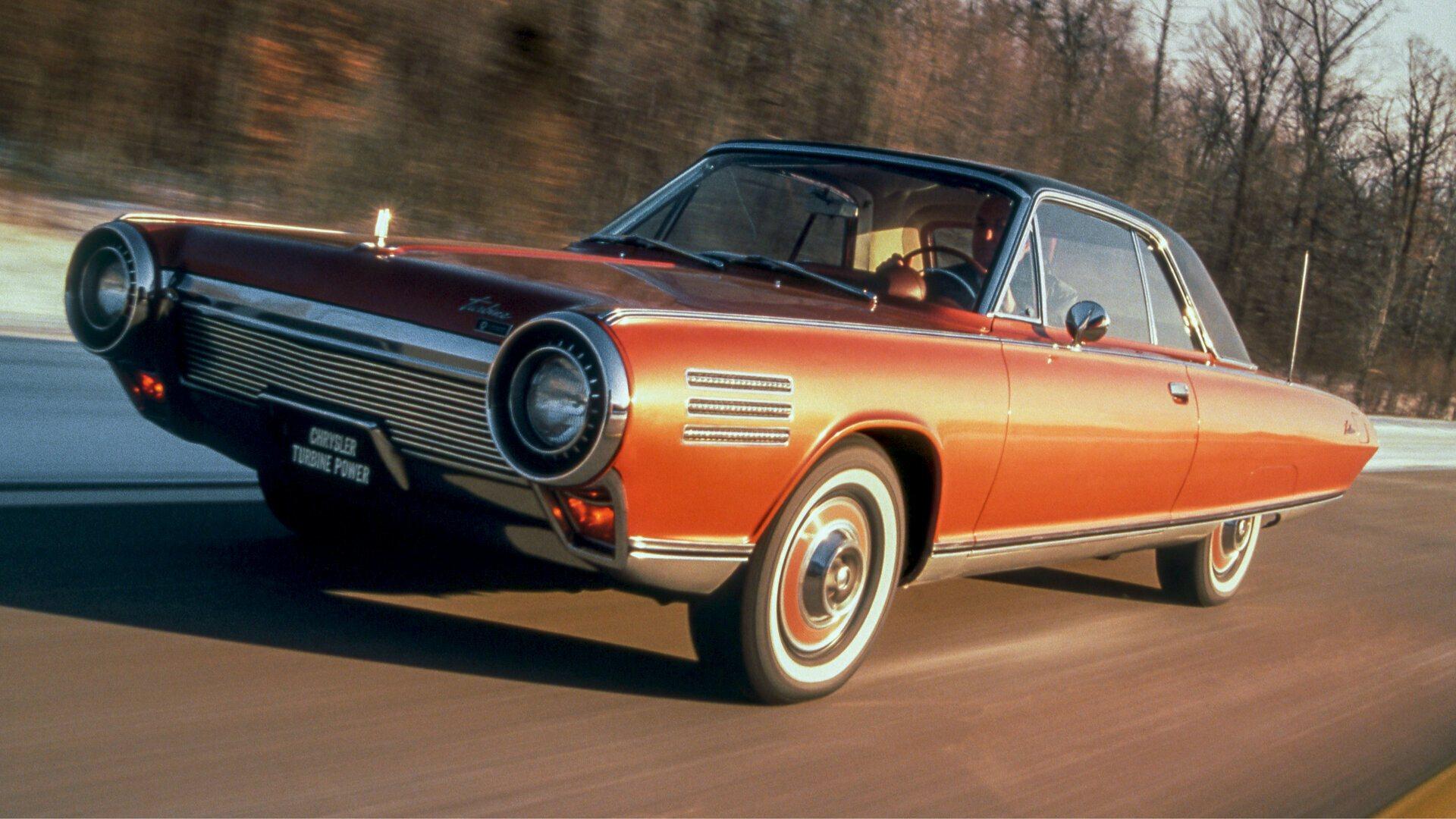 Coche del día: Chrysler Turbine Car