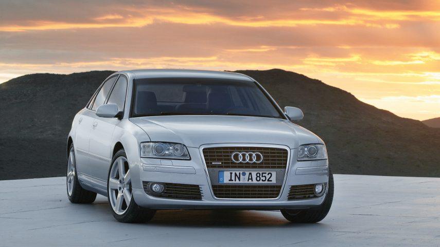 Comparativa segmento F 10000 euros Audi A8 1