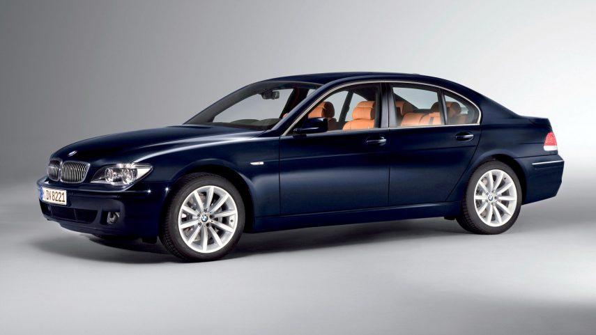 Comparativa segmento F 10000 euros BMW Serie 7 1