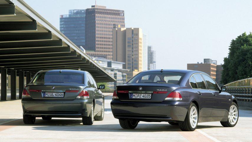 Comparativa segmento F 10000 euros BMW Serie 7 3