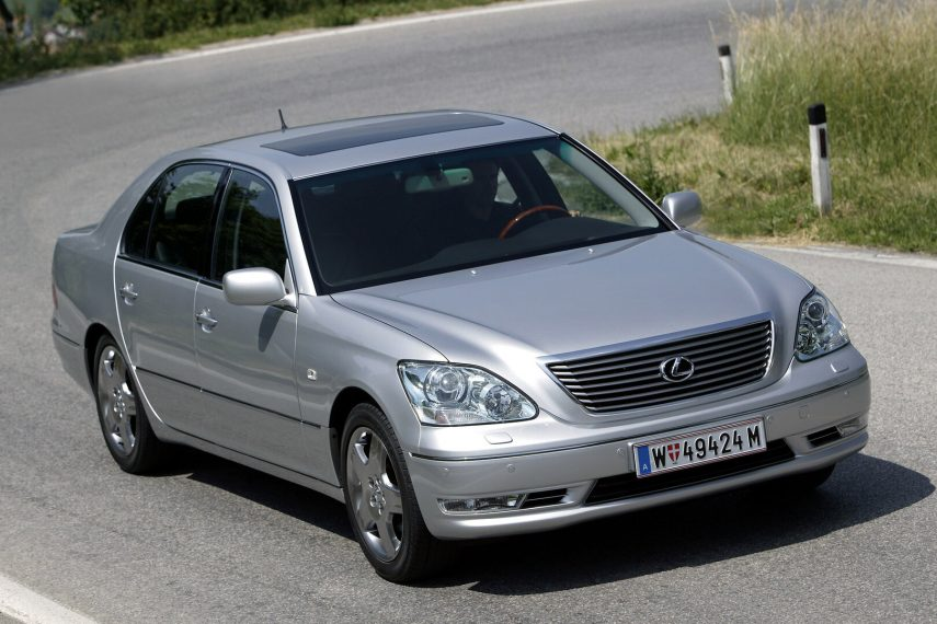 Comparativa segmento F 10000 euros Lexus LS 1