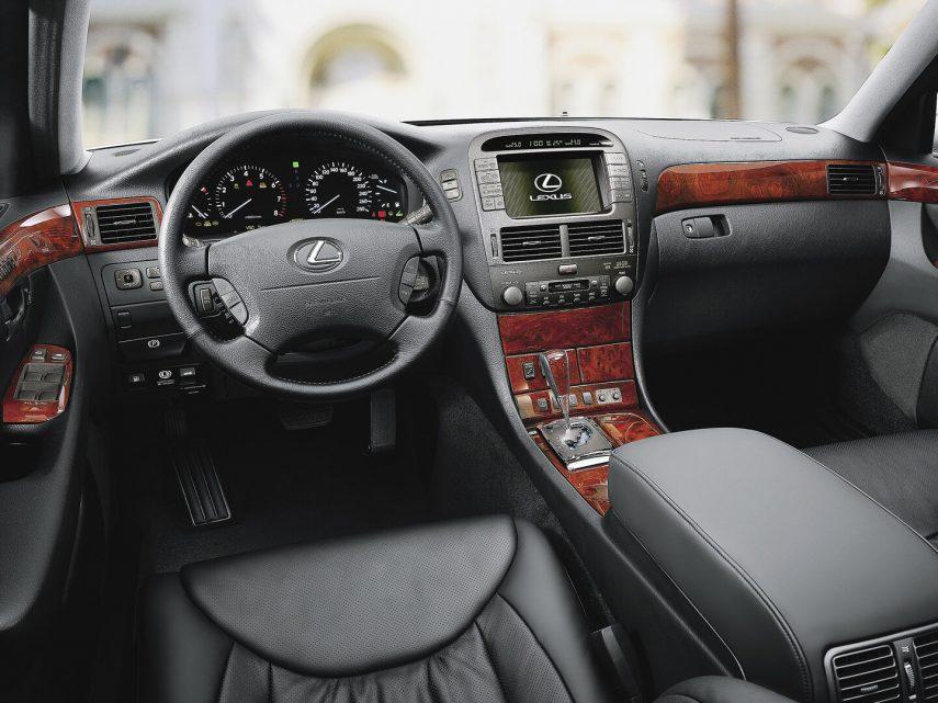 Comparativa segmento F 10000 euros Lexus LS 2