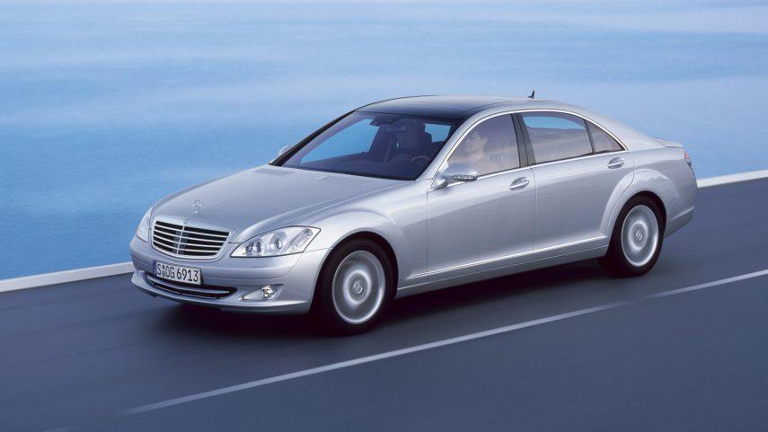 Comparativa segmento F 10000 euros Mercedes Clase S 1
