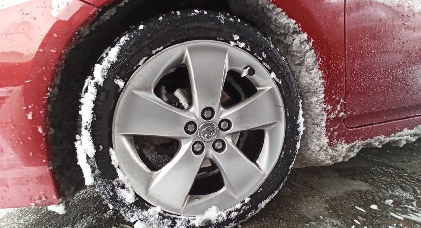 Continental AllSeasonContact Toyota Prius parte 1 13