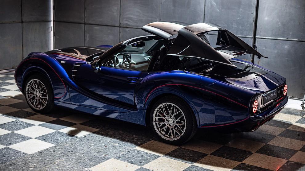 Hurtan Grand Albaycín Bespoke Targa 2021, una nueva forma de disfrutar de un coupé-roadster