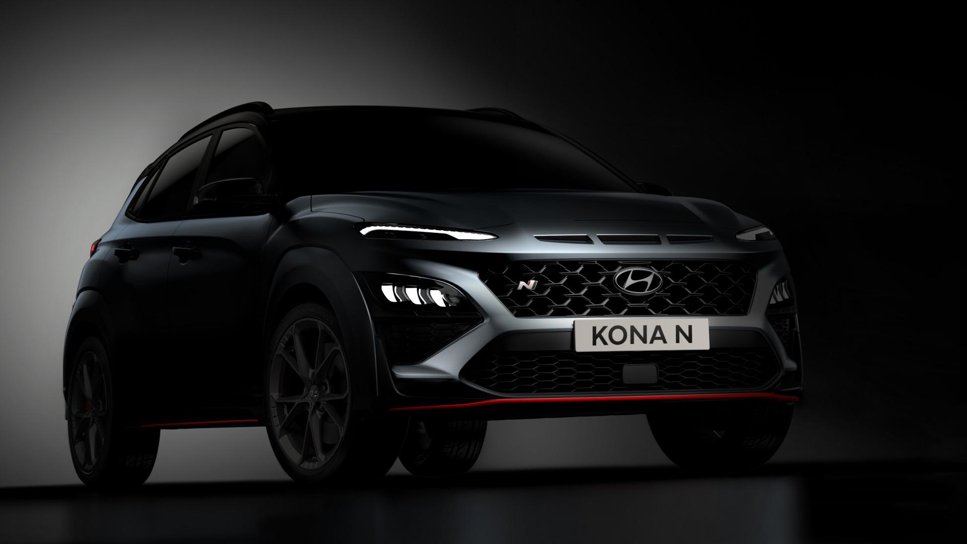 Estas son las primeras imágenes del Hyundai Kona N