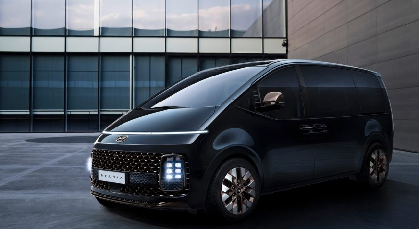 Hyundai Staria 2021, reveladas las primeras imágenes