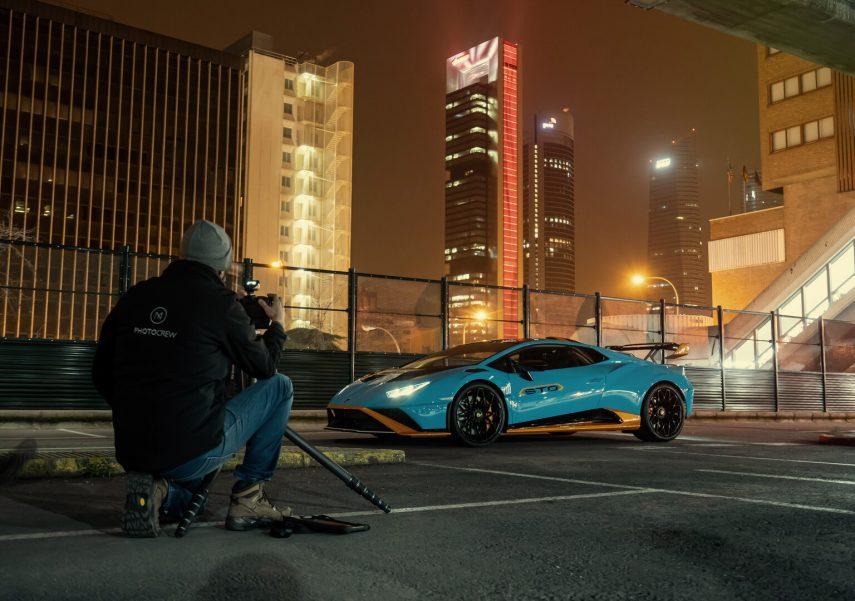 Cómo se hacen fotos de coches como un profesional