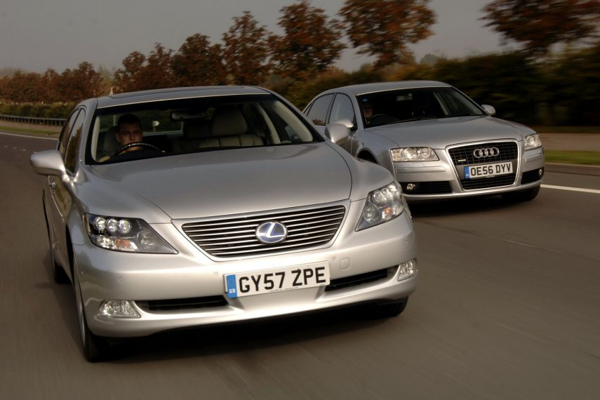 Lexus LS y Audi A8