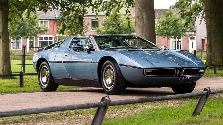 Coche del día: Maserati Bora