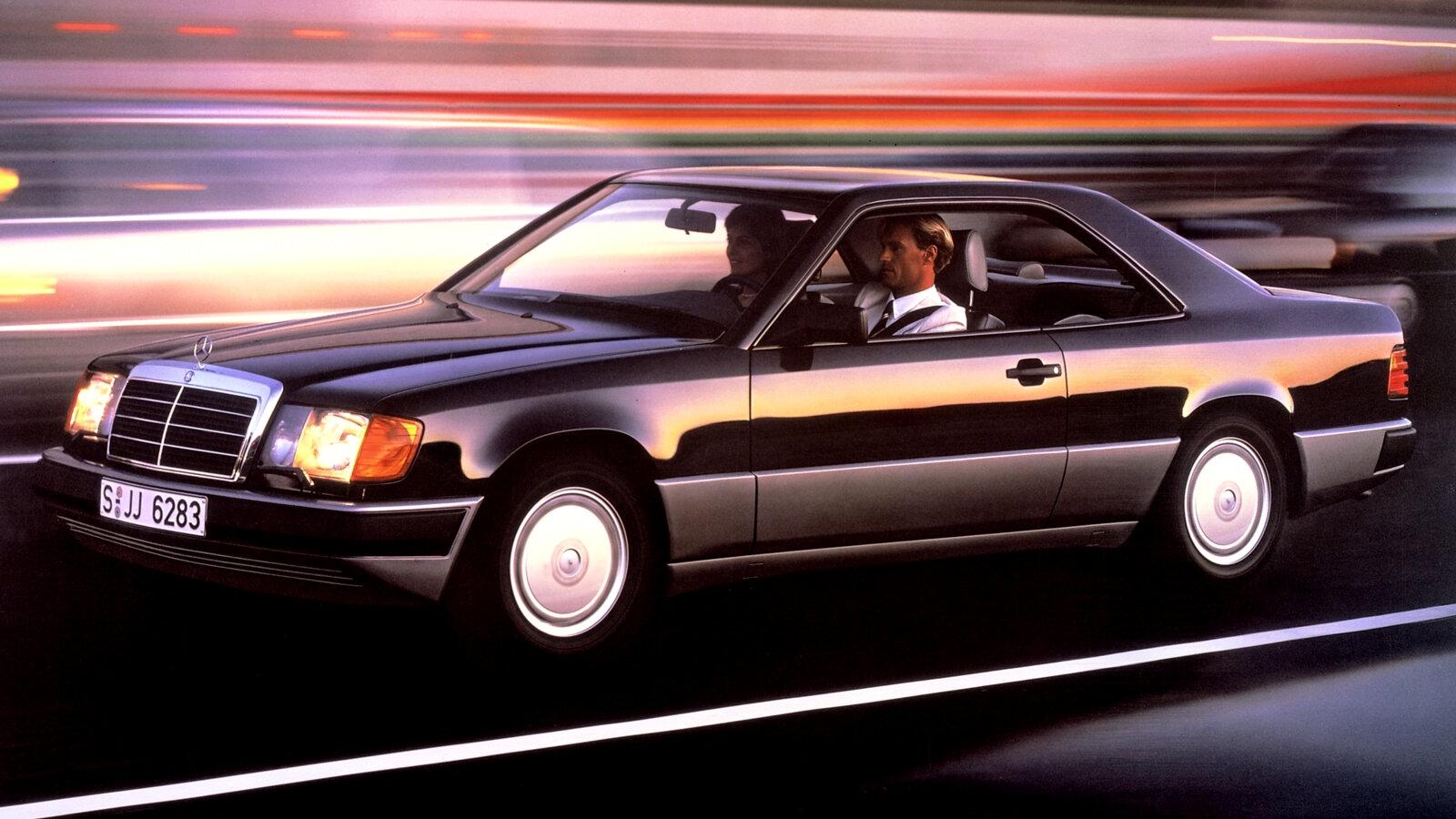Coche del día: Mercedes-Benz 300 CE (C124)