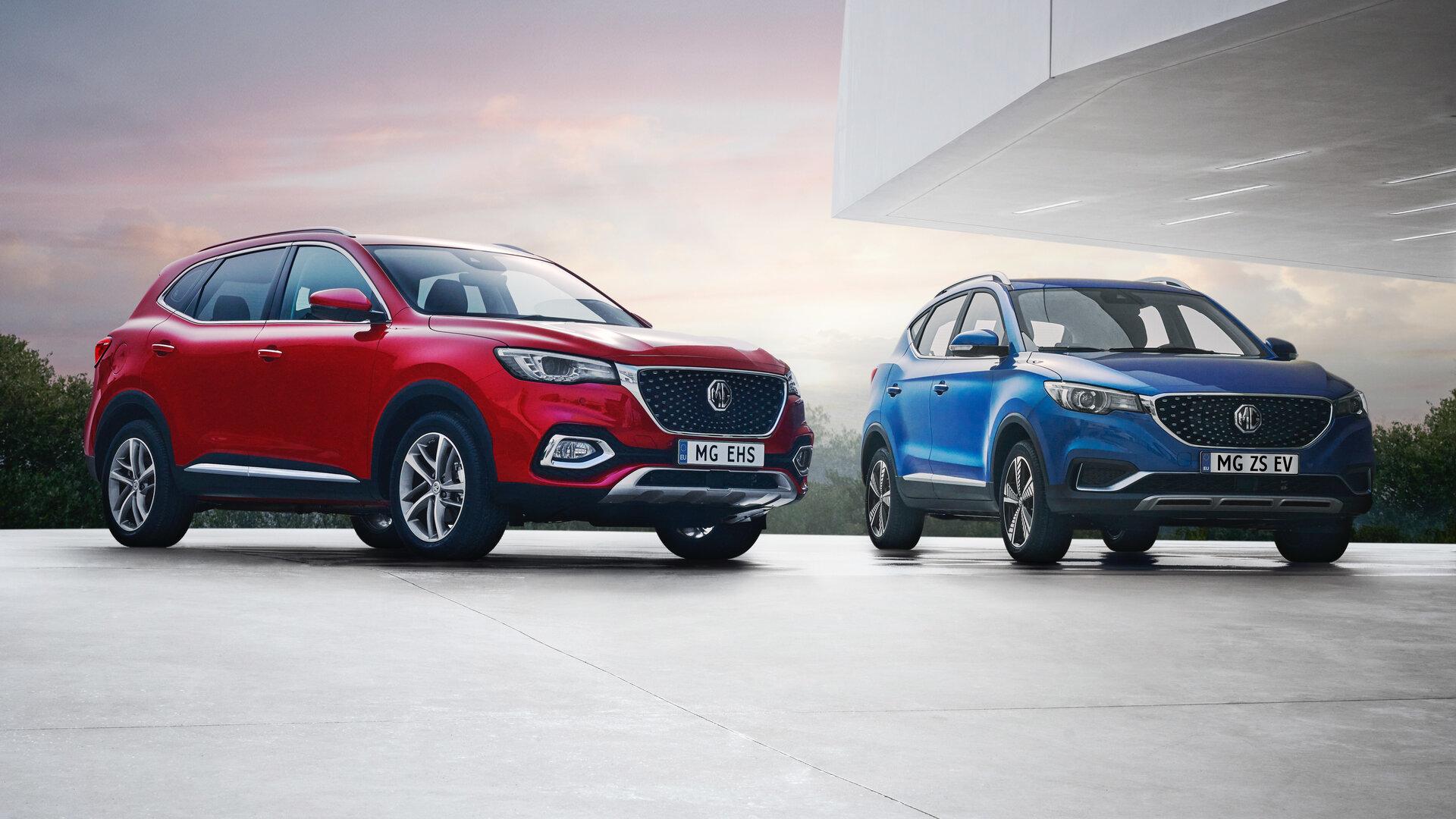 MG arranca las ventas en España en abril con el ZS EV y el EHS Plug-in Hybrid