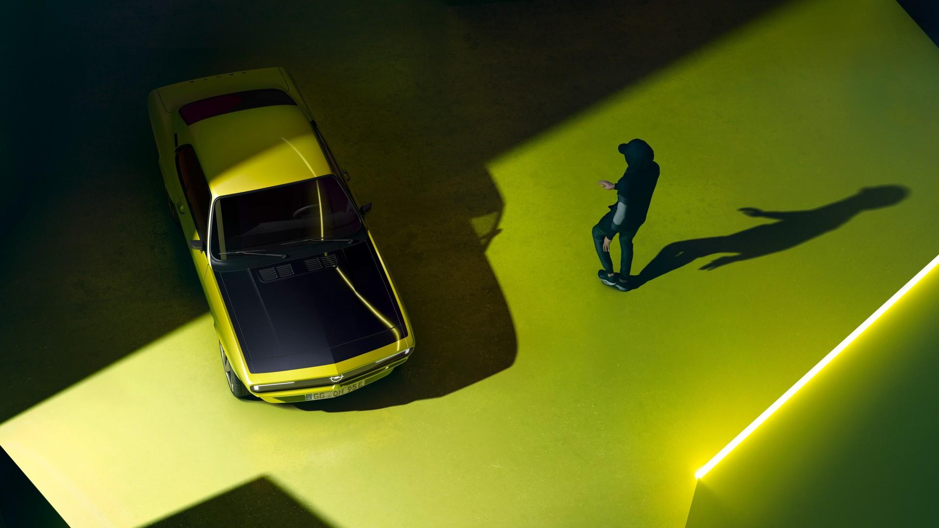 Opel Manta GSe ElektroMOD, presentando el futuro a golpe de nostalgia