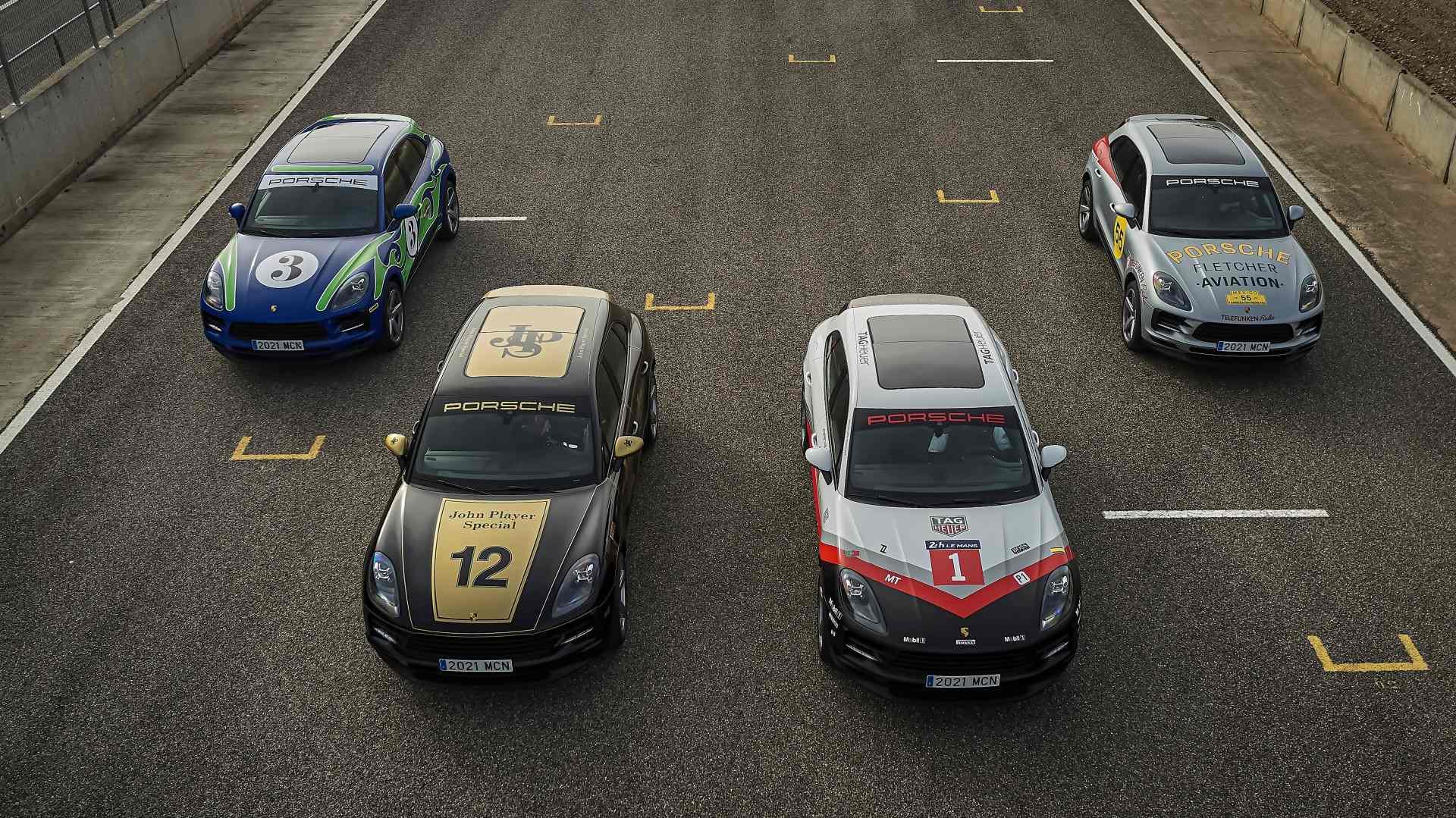 Porsche Macan Tribute 2021, rindiendo homenaje a ilustres coches de competición