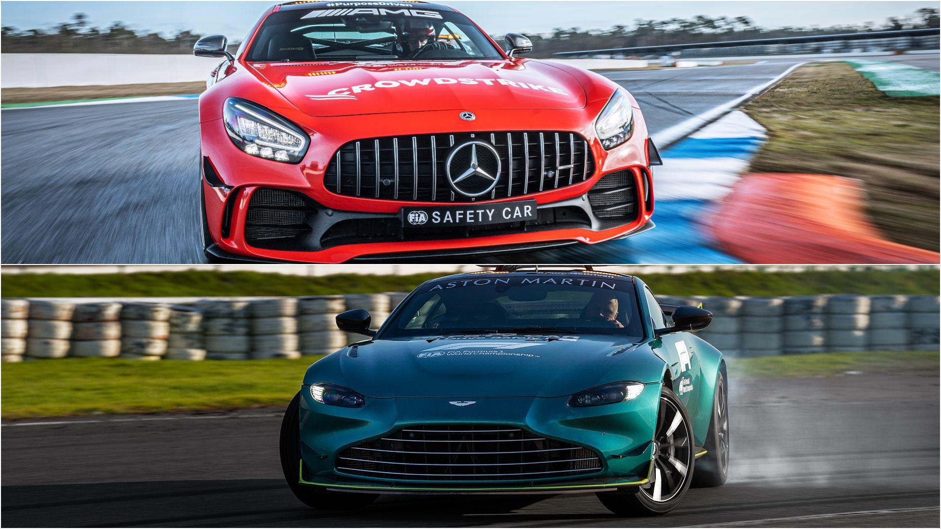 Así son los nuevos coches de seguridad de la Fórmula 1