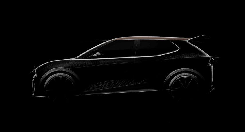 SEAT SUV Electrico Economico 2025 Teaser