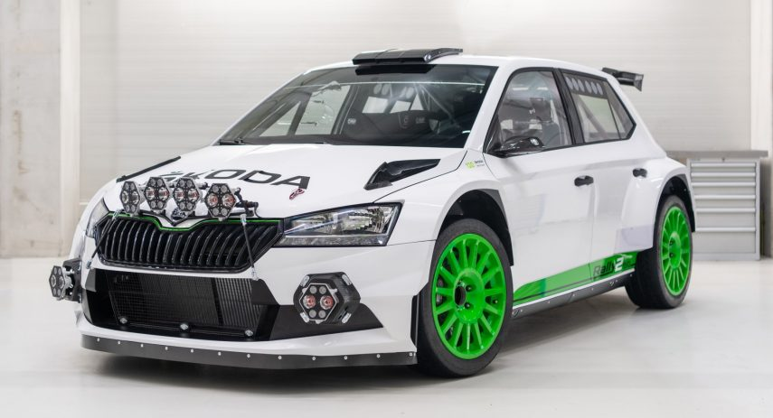 Škoda Fabia Rally2 evo Edition 120 (1)