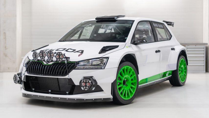 Škoda Fabia Rally2 evo Edition 120, limitado a 12 ejemplares