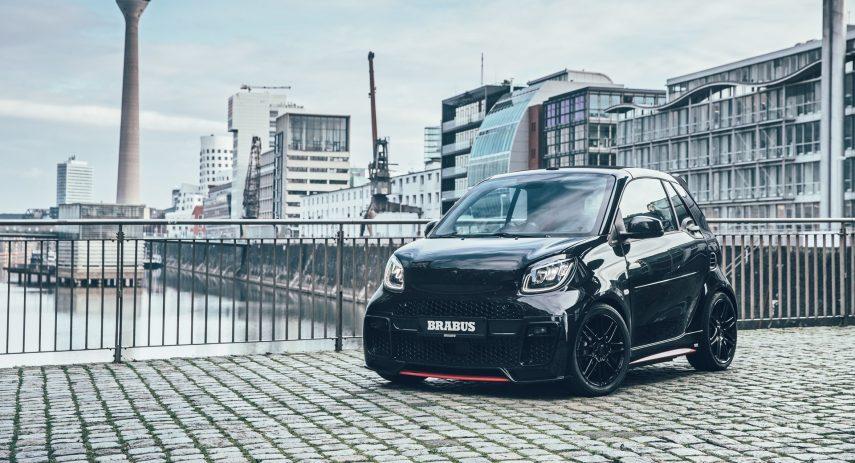 smart EQ fortwo cabrio Brabus 92R 2021 (2)