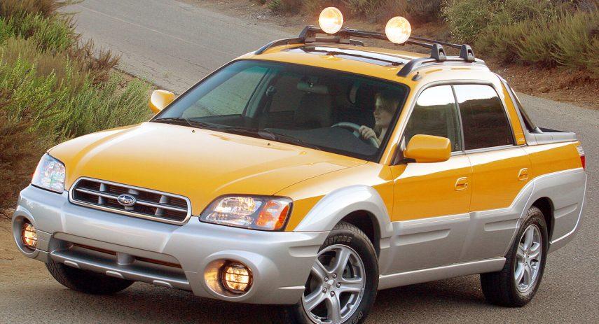 Subaru Baja americano 1