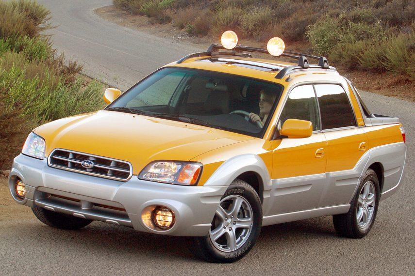 Coche del día: Subaru Baja (BT)