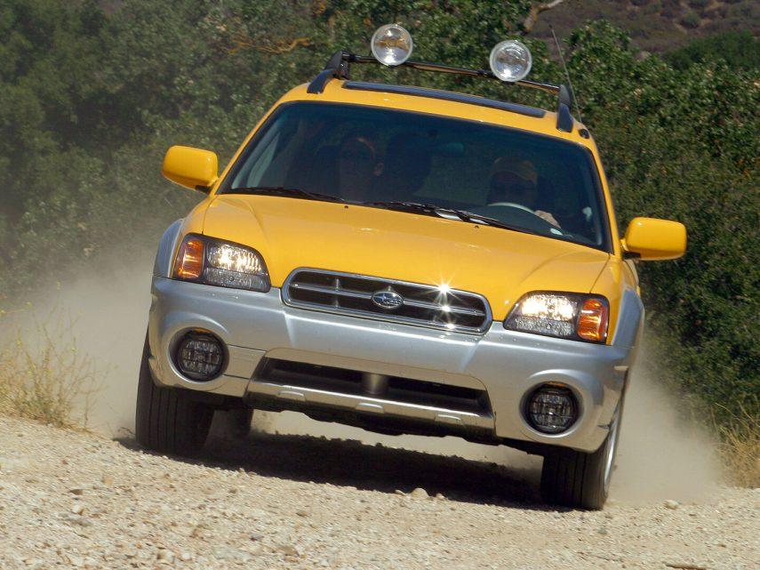 Subaru Baja americano 2