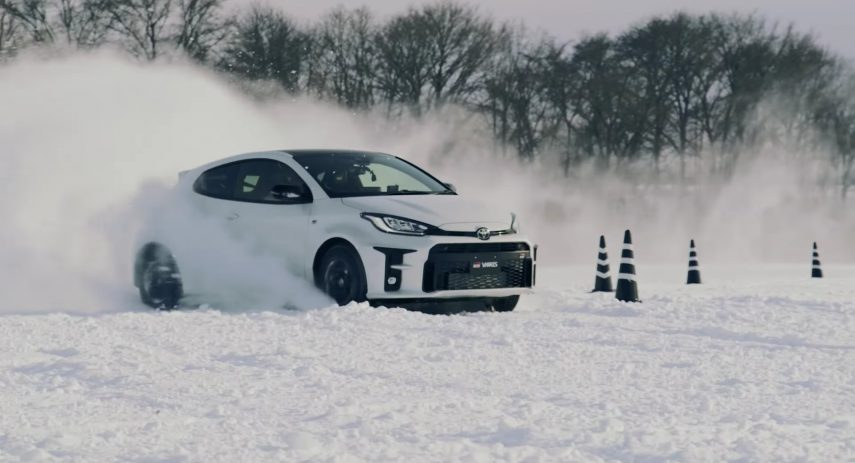 Toyota GR Yaris Conduccion Nieve (2)