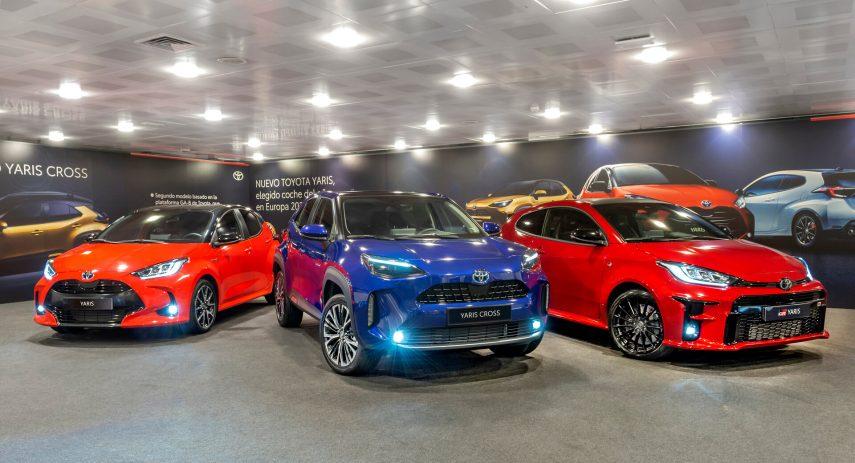 Toyota Yaris Cross presentacion estatica 1