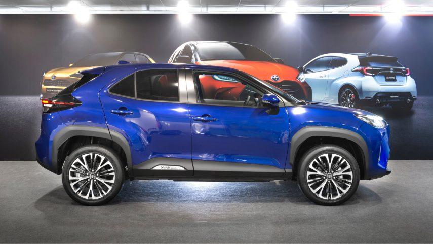 Toyota Yaris Cross presentacion estatica 2
