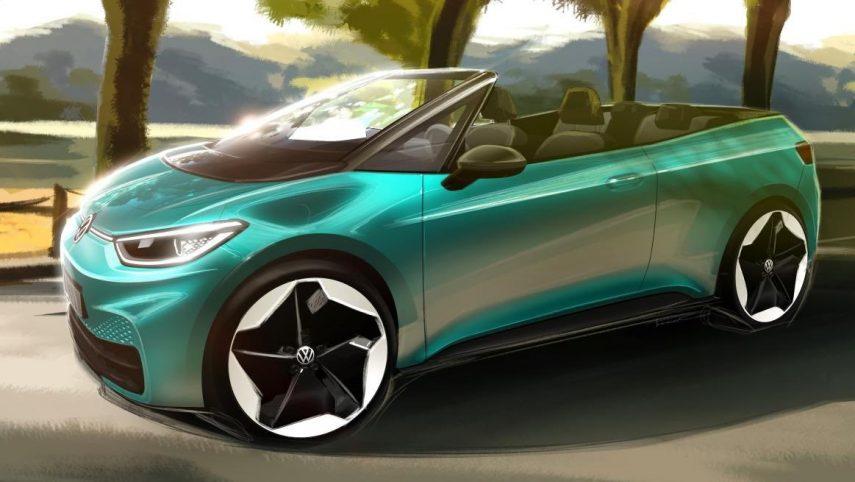 Si te gusta, el Volkswagen ID.3 Cabrio podría convertirse en una realidad