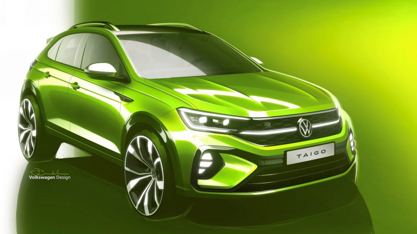 """Volkswagen Taigo, la próxima incursión en el segmento SUV """"coupé"""""""