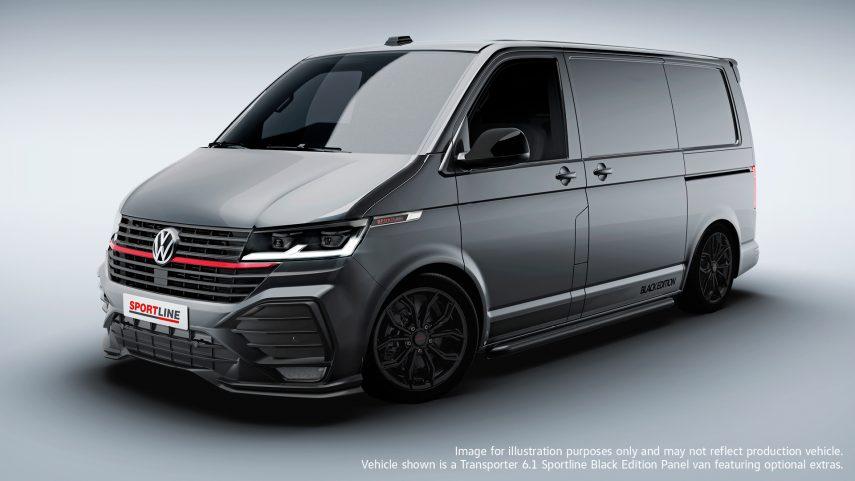 Volkswagen Transporter T6.1 Sportline, un comercial con ganas de destacar