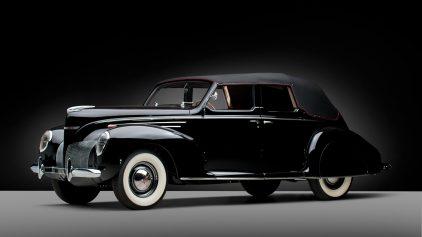 1939 Lincoln Zephyr Convertible Sedan