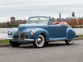 1941 Lincoln Zephyr Convertible Coupe
