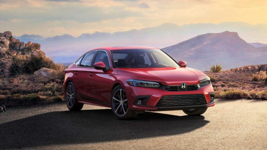 Honda adelanta la primera imagen del nuevo Civic Sedán