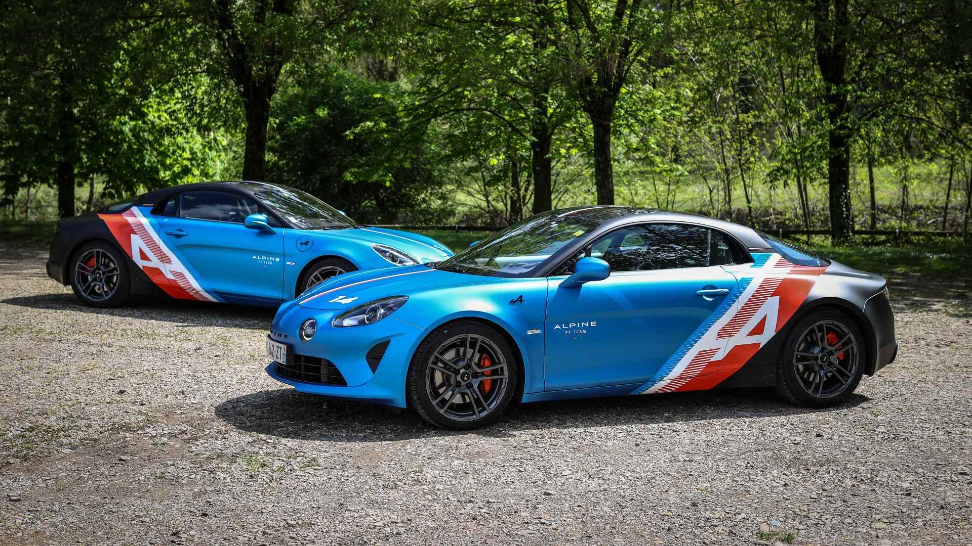 """Alpine A110 """"Trackside Cars"""", aprovechando la atractiva librea del A521"""