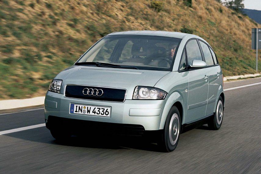 Coche del día: Audi A2 1.2 TDI 3L (8Z)