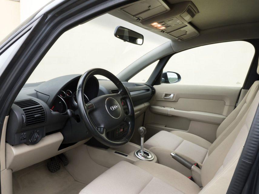 Audi A2 12 TDI 3L interior 2003