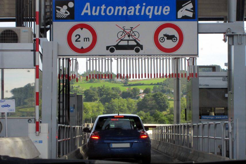 Autopista peaje Francia