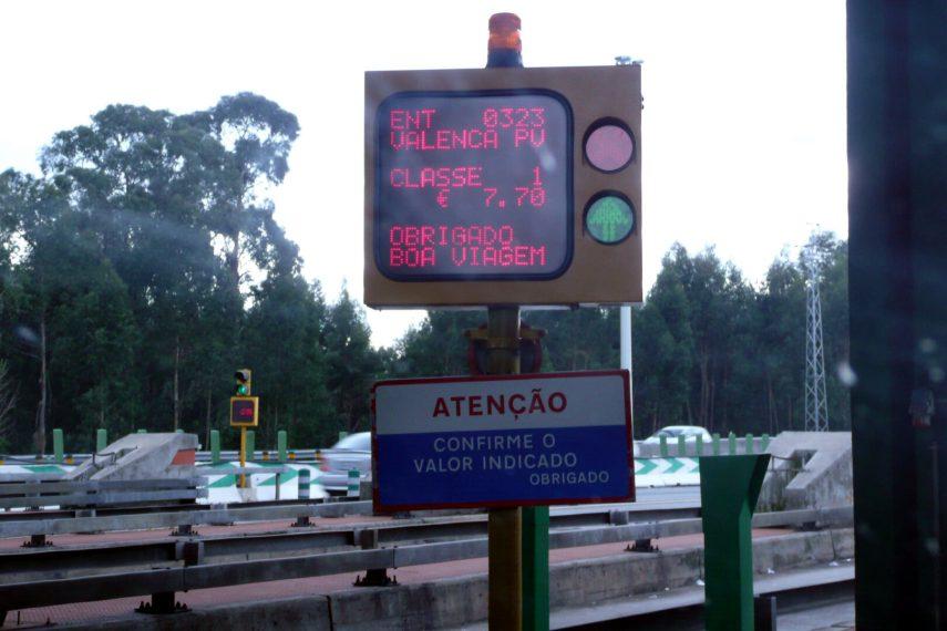 Autopista peaje Portugal