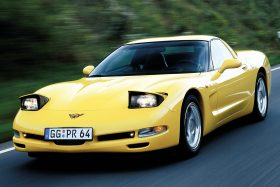 Chevrolet Corvette Coupe C5 1
