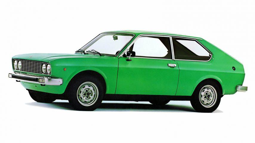 Coche del día: Fiat 128 3p Berlinetta