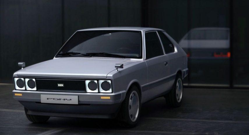 Hyundai Pony EV Heritage (1)