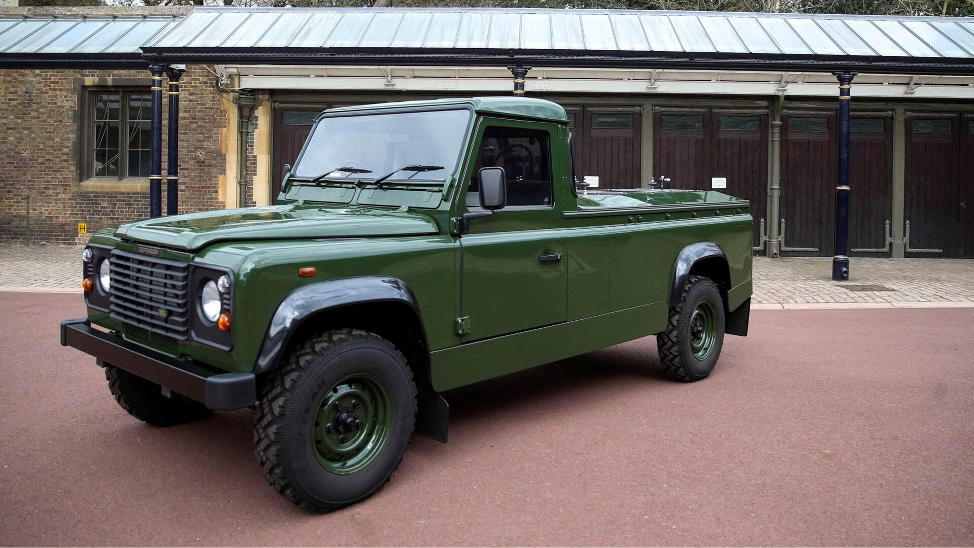 Land Rover Defender, el vehículo elegido para el último viaje del Duque de Edimburgo