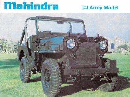 Mahindra CJ militar 1