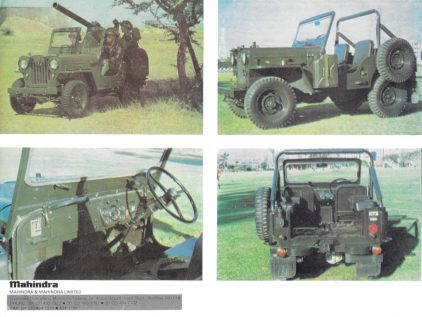 Mahindra CJ militar 2