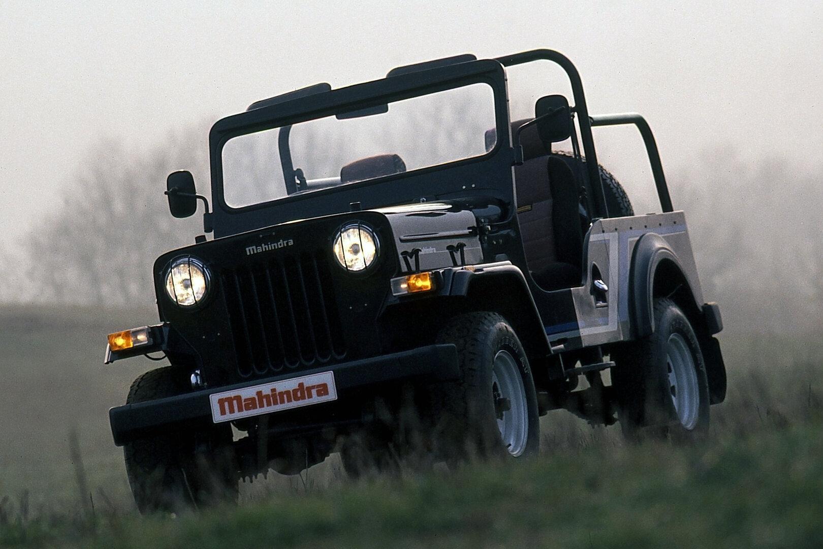 Coche del día: Mahindra CJ3 2.1D